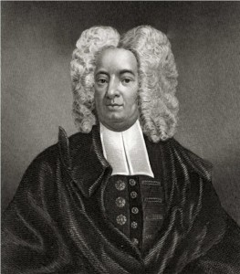 Cotton Mather - Cottonus Matherus S. theologieae doctor regia societas Londonensis...Mezzotint by Peter Pelham. Boston 1728.